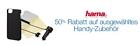 Amazon: 50 Prozent Rabatt auf ausgewähltes Handy Zubehör von Hama
