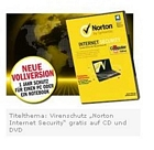 ComputerBILD: 1 Jahr Norton Internet Security 2013 für 2,90 Euro