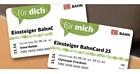 Deutsche Bahn: Eine Einsteiger BahnCard 25 kaufen und zwei bekommen