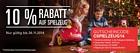 Ebay.de: 10 Prozent Rabatt auf Artikel aus der Kategorie Spielzeug
