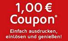 1 Euro Rabatt für Frosta Gerichte