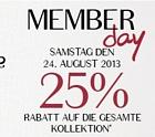 Hunkemöller: Member Day mit 30 Prozent Rabatt auf alle Artikel + 5 Euro Gutschein
