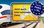 LTUR: Restplätze der Deutschen Bahn – ab 27 Euro im Inland und ab 37 Euro International – z.B. Italien und Schweden