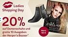 mirapodo: 20 Prozent Rabatt auf Damenschuhe + Jahresabo Harper's Bazaar kostenlos dazu