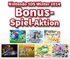 Nintendo 3DS Winter 2014 Bonus-Spiel-Aktion – N2DS/N3DS registrieren + Super Smash Bros. / Pokémon Alpha/Omega Saphir kaufen und ein Spiel kostenlos erhalten
