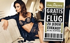 Palmers: Für 100 Euro einkaufen und Gutschein für Gratisflug erhalten