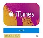 PayPal: iTunes-Guthaben im Wert von 100 Euro für 80 Euro kaufen (20 Prozent Rabatt)