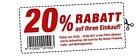 POCO – 20 Prozent Rabatt auf den gesamten Einkauf