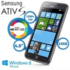 Samsung Ativ S i8750 Windows 8 Smartphone