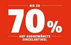 SportScheck: Sale mit bis zu 70 Prozent Rabatt + keine Versandkosten