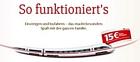 Toffifee: Aktionspackung kaufen und 15 Euro eCoupon für die Deutsche Bahn erhalten