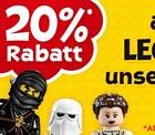 Toys'R'US: 15 Prozent auf Lego-Artikel + keine Versandkosten ab 50 Euro Bestellwert oder PayPal-Zahlung