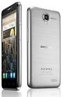 Alcatel OneTouch Idol 6030 X Silber mit 4,7 Zoll-Display