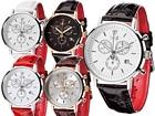 DETOMASO Milano Chronograph Herrenuhr Edelstahl Schweizer Markenuhrwerk