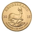 1 Unze Goldmünze Krügerrand Jahrgang 2015 zu SPOT (reiner Goldpreis)