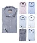 Jakes Slim Fit Tailored Fit Business Hemd mit Kentkragen