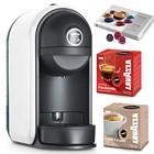 Lavazza Minú LM500 Kapsel Kaffeemaschine weiß + 44 Kaffeekapseln