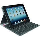 Logitech Bluetooth Solar Tastatur Foliocover für Apple iPad 2/3/4 coral pink