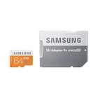Samsung microSDXC 64 GB Class 10 EVO + Adapter Speicherkarte