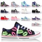 Damen High Top Sneakers Kultige Freizeit Schuhe Prints & Nieten 1890-013 1890-010 1890-009 1890-008 1890-012