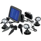 Solar-Spot LED renkforce Schwarz