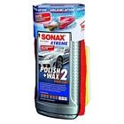 Sonax XTREME Polish&Wax 2 500ml 65 Jahre inkl. gratis Schwamm und Mikrofasertuch