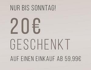 Tom Tailor – 20 Euro Rabatt ab 59,99 Euro Bestellwert