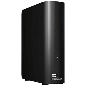 Western Digital Elements Desktop schwarz 5TB USB 3.0 (WDBWLG0050HBK) externe Festplatte 3,5 Zoll