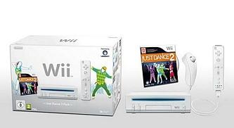 Nintendo Wii Weiß inkl. Just Dance 2