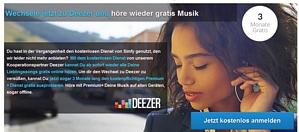 Deezer Premium+ ganze 3 Monate für 0,99 Euro testen