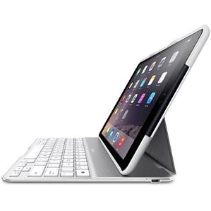 Belkin QODE Ultimate weiß iPad Air 2 Tastatur Hülle (F5L178DEWHT)