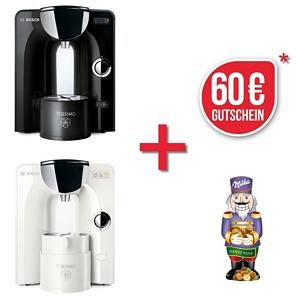 TASSIMO CHARMY + 50 EUR Gutscheine + 2x TDiscs + Gläser Set Heißgetränkemaschine