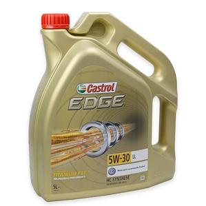 Castrol EDGE 15669E TITANIUM FST LL 5W-30 5 LITER Motoröl