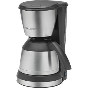 CLATRONIC Kaffeemaschine KA 3563 Thermo schwarz-inox Kaffeeautomat