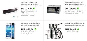 Ebay-WOW SuperWeekend – diverse Schnäppchen