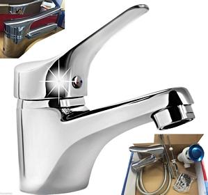 Homeline Armaturen Waschtisch Armatur Einhebelmische Wasserhahn Badmöbel Badarmaturen