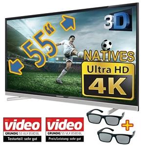 Grundig 55 VLX 8580 BL 55 Zoll Ultra-HD-4k-Fernseher