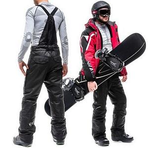 Skihose für Herren Snowboardhose mit Hosenträgern