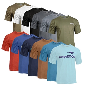 2er Pack KangaROOS T-Shirt mit Logoprint