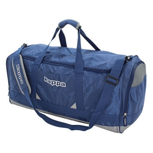 Kappa Sporttasche Blau-Grau Bag Sport Freizeit Koffer