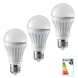 3x LG LED Leuchtmittel E27 Classic warm-weiss 7,5W 2700K 450lm 140° Glühbirne