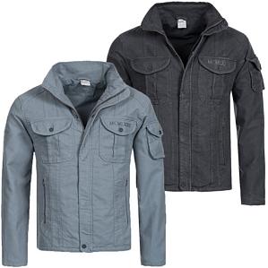 Nike Spirit Mens Denim Jacket Übergangsjacke für Herren