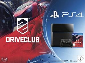 Sony Playstation 4 500GB schwarz Driveclub Bundle