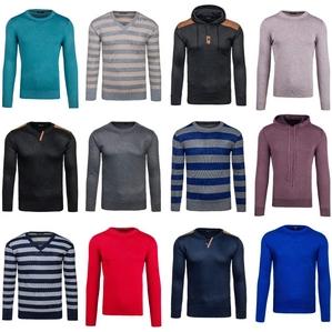 Pullover Herrenpullover Sweater Longsleeve Men Shirt Strickjacke Mix 5E5