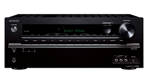 Onkyo TX-NR545  7.2 Netzwerk AV-Receiver (120 Watt, Dolby Atmos, 4K Ultra HD, HDCP 2.2, 6x HDMI, Bluetooth, WiFi, Audiostreaming)