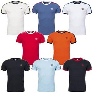 Umbro Taped Ringer Tee Premium T-Shirt Herren