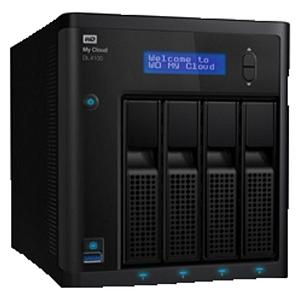 Western Digital WD WDBNEZ0160KBK-EESN My Cloud DL4100 16 TB 3.5 Zoll extern