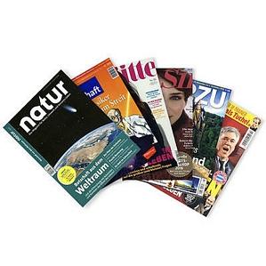 Diverse Zeitschriften Abonnements Jahres und halbjahres Abos