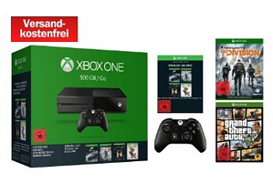 Microsoft Xbox Sparket 16 – Xbox One 500GB + 2.Controller + The Division + GTA V + Rise of the Tomb Raider